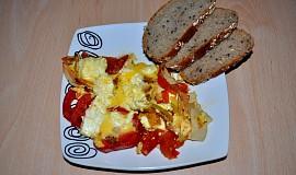 Zapečená rajčata s balkánským sýrem