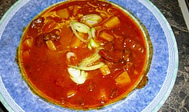 Gulášová polévka - přesnídávková