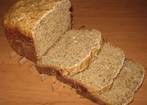 Kváskový chléb z hrubé mouky s vitamínem C