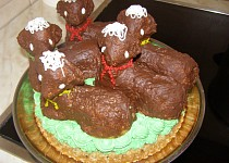 Velikonoční dortík