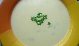 Krémová jablečno-celerová polévka