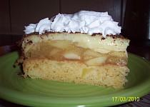 Opilý jablkový dort