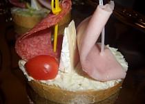 Plachetnice dvojstěžník - dětské chlebíčky
