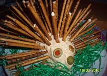 Tvarohovo-sýrový ježek