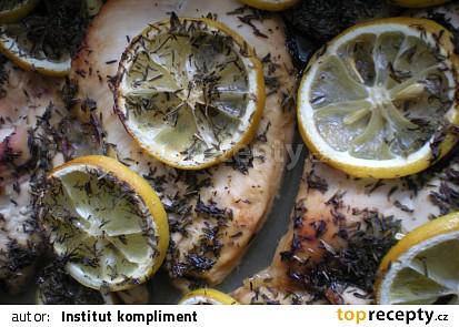 Kuře na citronech