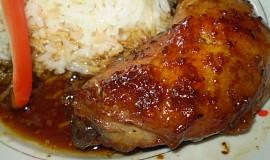Lahodné kuře-pečené v marinádě