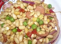 Sojový salát se zeleninou