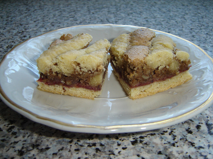 Sváteční mřížkový koláč