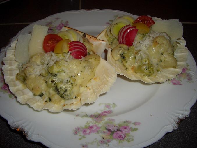 Gnocchetti se smetanovou omáčkou a brokolicí