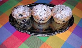 Muffiny s borůvkami