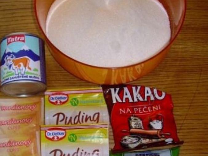 Čokoládová dobrota pro děti, přísady