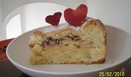Jablecny kolac z krehkeho jogurtoveho testa