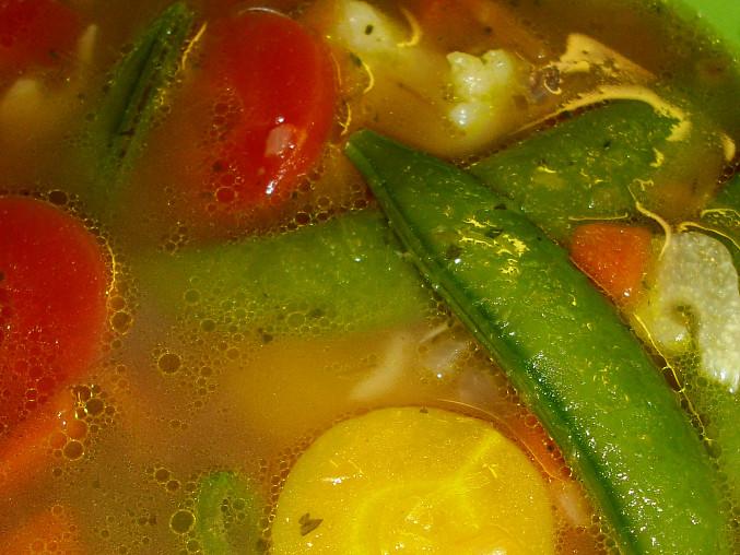 Pikantní polévka s chilli a rýží, Pikantní polévka s chilli a rýží