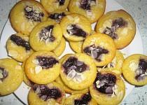 Pomerančové muffiny s borůvkami