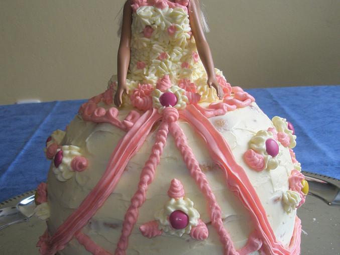 Adélčin dort Barbie
