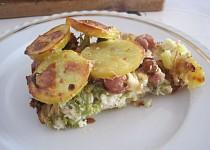 Zapékaná brokolice se smaženou cibulkou
