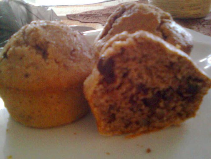 Ořechovo - čokoládové muffiny