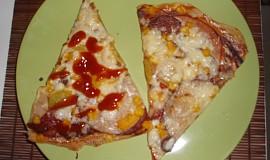 Pizza na listovém těstě