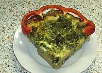 Špenátový dortík