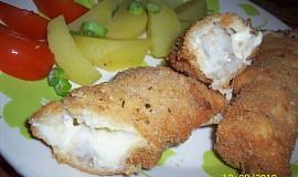 Smažené rybí ražničí