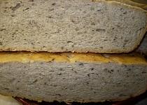 Chléb pečený v římském hrnci - postup