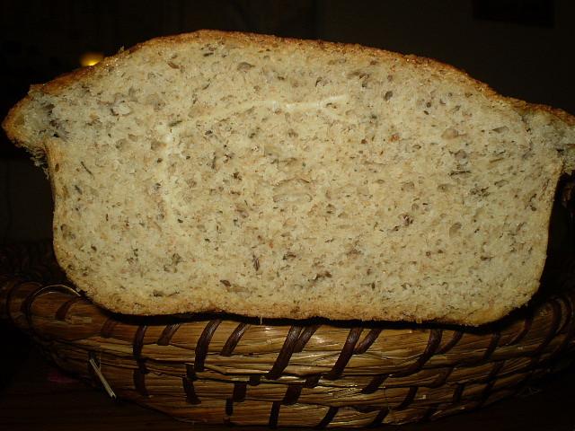 Hlívový chleba