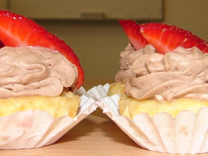 Racio košíčky, Čerstvé jahody