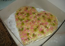 Jednoduchý dort - dort z buchty