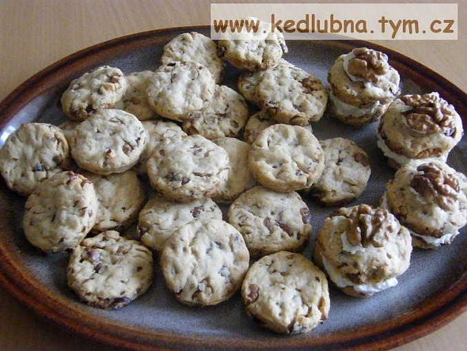 Ořechové slané keksy