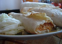 Tortily plněné masovou směsí