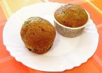 Borůvkovo-čokoládové muffiny