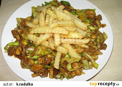 Čína ze sójového masa a Šmakouna