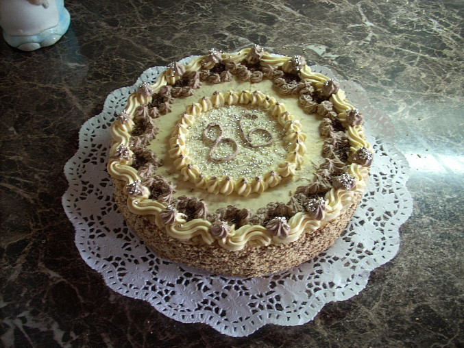 1. Karamelový dort
