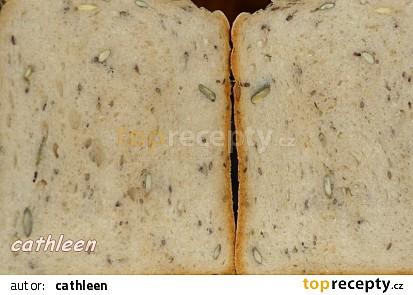 Kefírový kváskový čtyřzrnný chleba