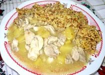Kuřecí s mangem