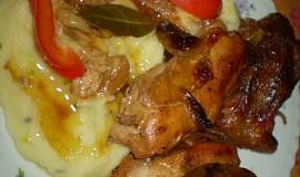 Pečené kuře jako od Jamieho Oliviera