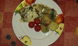Rybí filé se zeleninou