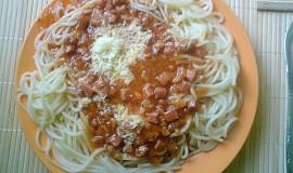 Spaghetti s omáčkou