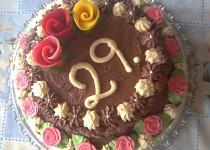Výborný piškotový korpus na dorty