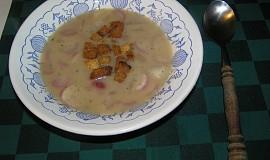 Polévka z ředkviček