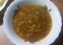 Yvetina falešná dršťková polévka