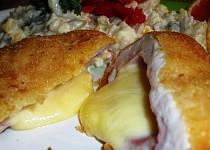 Krůtí kapsa se šunkou a sýrem