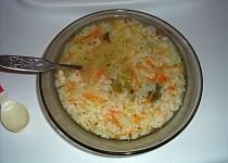 """Zeleninová polévka s kuřecím masem """"pro nejmenší"""""""