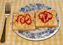 Střapaté sendviče
