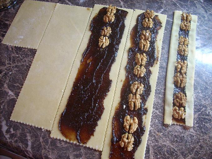 Povidláčky s ořechy