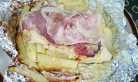 Kuřecí maso v balíčku - na gril