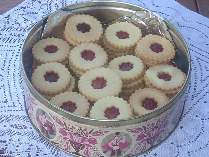 Slepované  cukroví, Slepované koláčky