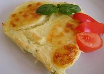 Zapečená kaše s mozzarellou