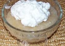 Jablečné pyré s kokosem