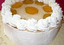Ovocný dortík s jogurtem nebo pudinkem